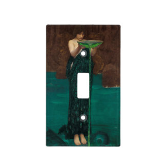 Circe Invidiosa John William Waterhouse Light Switch Cover
