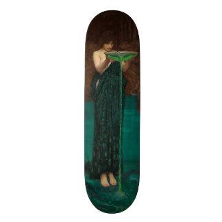 Circe Invidiosa John William Waterhouse Skateboard
