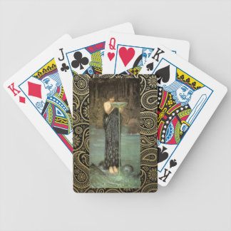 Circe Invidiosa Playign Cards Bicycle Playing Cards