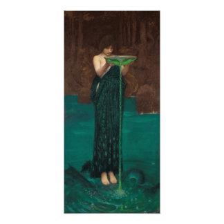 Circe Invidiosa por el Waterhouse Fotografía