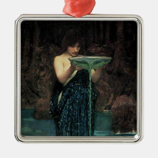 Circe Invidiosa por el Waterhouse, Victorian del Adorno Para Reyes