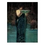 Circe Invidiosa por el Waterhouse, Victorian del Postal