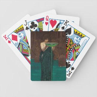 Circe Invidiosa Waterhouse Bicycle Playing Cards