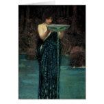 Circe Invidiosa, Waterhouse de JW, Victorian del v Tarjetas