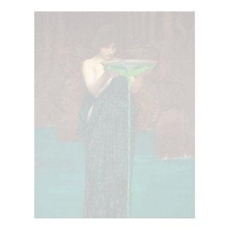 Circe Invidiosa Waterhouse Fine Art Letterhead