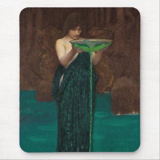 Circe Invidiosa Waterhouse Fine Art Mouse Pad