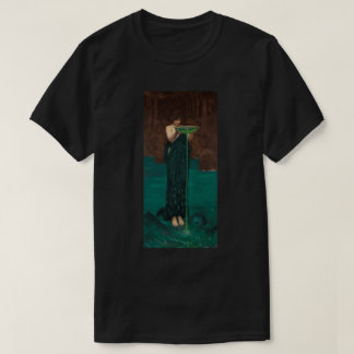 Circe Invidiosa Waterhouse Fine Art T-Shirt