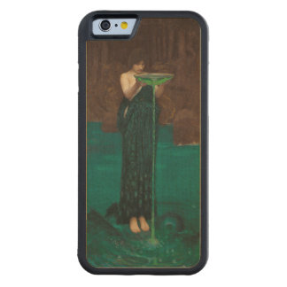 Circe Invidiosa Waterhouse Pre-Raphaelite Carved Maple iPhone 6 Bumper Case
