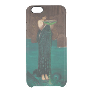 Circe Invidiosa Waterhouse Pre-Raphaelite Clear iPhone 6/6S Case