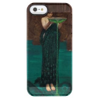 Circe Invidiosa Waterhouse Pre-Raphaelite Clear iPhone SE/5/5s Case