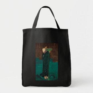 Circe Invidiosa Waterhouse Vintage Painting Tote Bag