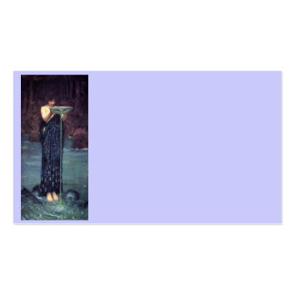 Circe Invidious - Circe with a Ponseive Bowl Double-Sided Standard Business Cards (Pack Of 100)