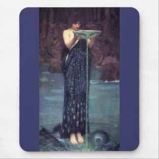 Circe Invidious - Circe with a Ponseive Bowl Mouse Pad