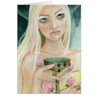 Circe - myth greeting card