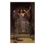 Circe Offering the Cup Canvas Print
