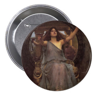 Circe Offering the Cup to Odysseus Pinback Button