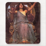 """Circe Offering the Cup to Odysseus"" Mouse Pad"