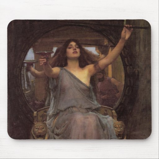 Circe Offering the Cup to Odysseus Mouse Pad