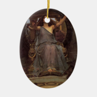Circe Offering the Cup to Odysseus Christmas Tree Ornaments