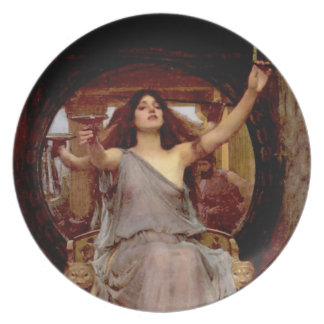 Circe Offering the Cup to Odysseus - Plate - B