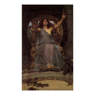 Circe Offering the Cup to Odysseus Poster
