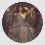 Circe Offering the Cup to Odysseus Round Stickers