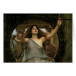 Circe Offering the Cup to Ulysses by JW Waterhouse Greeting Card