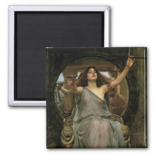 Circe Offering the Cup to Ulysses by JW Waterhouse Refrigerator Magnets