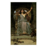 Circe Offering the Cup to Ulysses by JW Waterhouse Print