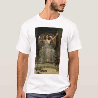 Circe Offering the Cup to Ulysses by JW Waterhouse T-Shirt