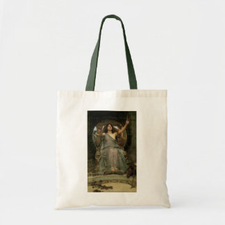 Circe Offering the Cup to Ulysses by JW Waterhouse Tote Bag