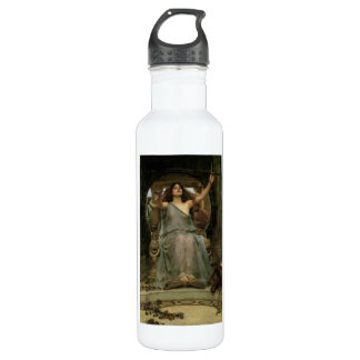 Circe Offering the Cup to Ulysses by JW Waterhouse Water Bottle