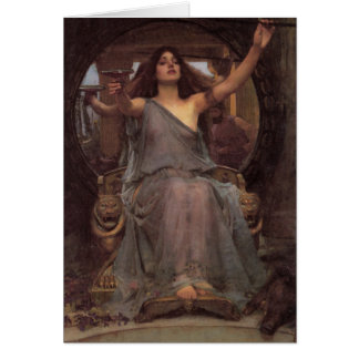Circe Offering the Cup to Ulysses Card