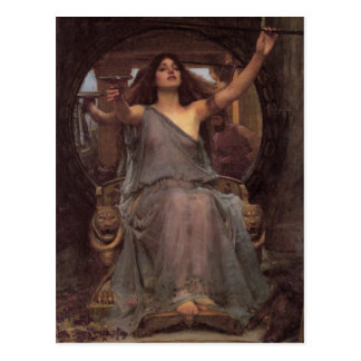 Circe Offering the Cup to Ulysses Postcard