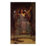 Circe Offering the Cup to Ulysses Posters