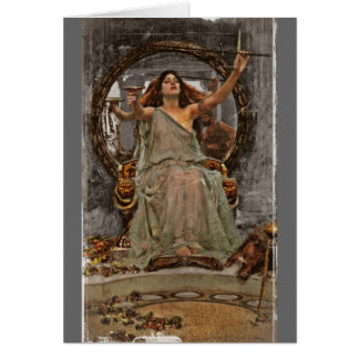 Circe Offers Cup to Ulysses Greeting Cards