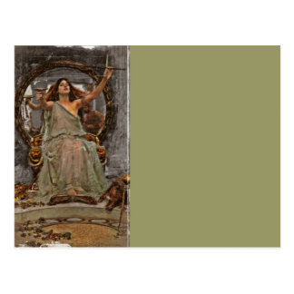 Circe Offers Cup to Ulysses Postcard