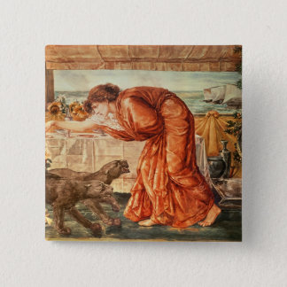 Circe Pouring Poison into a Vase Pinback Button