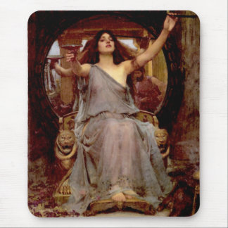 Circe que ofrece la taza a Odiseo - cojín de ratón Alfombrillas De Raton