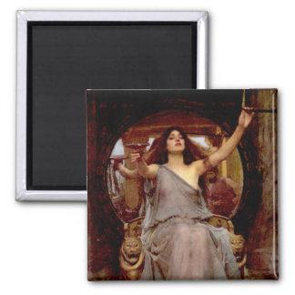 Circe que ofrece la taza a Odiseo - el imán de