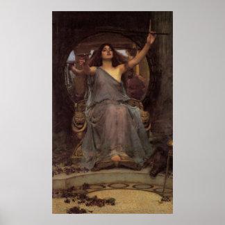 Circe que ofrece la taza a Odiseo Posters