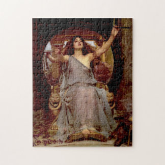 Circe que ofrece la taza a Odiseo - rompecabezas