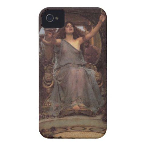 Circe que ofrece la taza a Ulises Case-Mate iPhone 4 Funda