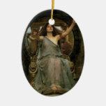 Circe que ofrece la taza a Ulises por el Adorno De Navidad