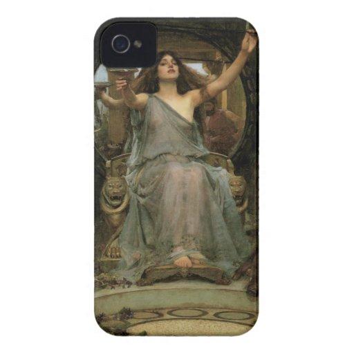 Circe que ofrece la taza a Ulises por el Case-Mate iPhone 4 Fundas