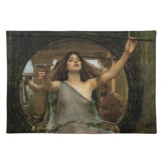 Circe que ofrece la taza a Ulises por el Mantel Individual