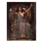 Circe que ofrece la taza a Ulises Tarjeta Postal