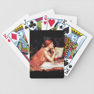 Circe Sorceress Bicycle Playing Cards