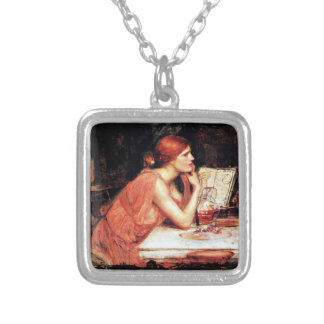 Circe Sorceress Silver Plated Necklace