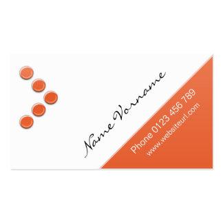 circle 5 business card templates